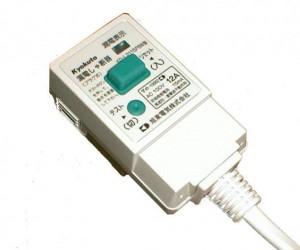KD-L2115PBW 漏電プラグ