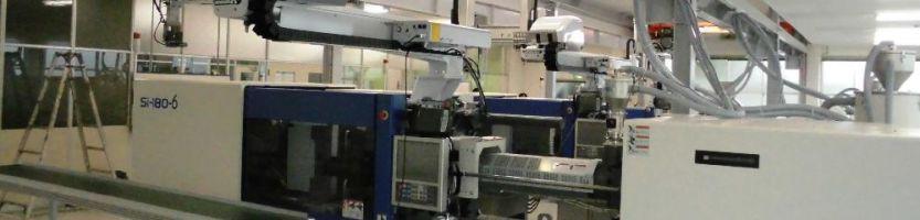鳥取事業所 中山工場 熱可塑性横型射出成形機